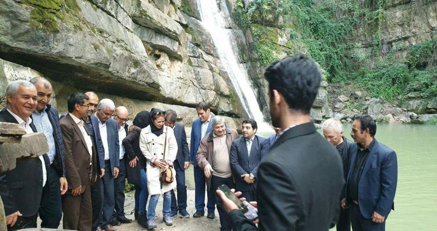بازدید از آبشارهای شیرآباد
