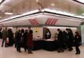 برپایی نمایشگاه فرهنگ ترافیک در مترو تهران