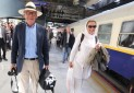قطار «عقاب طلایی» بر روی ریل گردشگری ایران