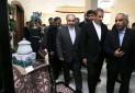 بازدید جهانگیری و سلطانی فر از نمایشگاه سوغات مشهد
