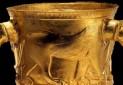 رونمایی از جام زرین سه هزار ساله کلاردشت در ساری