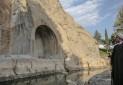 بازدید رئیس جمهور از مجموعه تاریخی طاق بستان