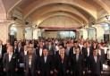 بازدید سفرای خارجی از بناهای احیا شده قزوین در حاشیه اجلاس شهرداران جاده ابریشم