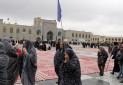 بازدید گردشگران قطار گردشگری از حرم امام رضا