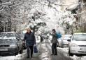 تهران در انتظار برف و باران / احتمال یخ زدگی معابر