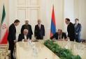ایران و ارمنستان پنج سند همکاری امضا کردند