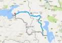 راه اندازی خط زمینی ارومیه به وان ترکیه