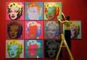 پرتره های مریلین مونرو در موزه بریتانیا