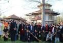 تندیس نخستین میدان راهنمایان گردشگری جهان رونمایی شد