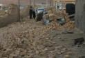 زمین لرزه به ۲۶ اثر تاریخی کوهبنان کرمان خسارت وارد کرد