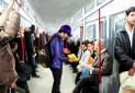 ترویج کتاب خوانی در مترو کمکی به گردشگری و سرانه مطالعه