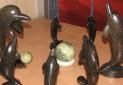 افتتاح نمایشگاه پیکرتراشی سنگی در چهارمحال و بختیاری
