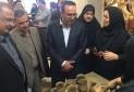 افتتاح نمایشگاه دائمی صنایع دستی در ساری