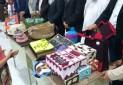 نمایشگاه صنایع دستی و غذای محلی در روستای کنار سیاه بستک برگزار شد