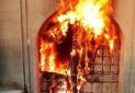 سوزاندن یک اثر ۳۰۰ ساله توسط افراد ناشناس
