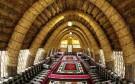 مهمانوازی عربی در خانه های بافته از نی