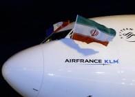 فرود پرواز ایرفرانس در تهران