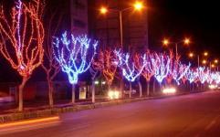 محور 17 شهریور و میدان امام حسین نورآرایی می شوند