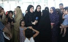 گردهمایی هنرمندان در فرودگاه بندرعباس به یاد فاجعه ایرباس