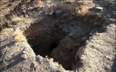کشف دست کند تاریخی در شهر صالح آباد