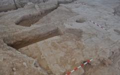 کشف صحنی بزرگ در شهر تاریخی بلقیس