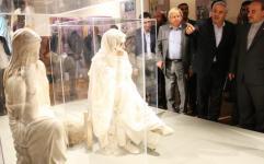 روزهای پایانی نمایشگاه تندیس های پنه لوپه رایگان اعلام شد