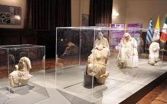 پایان نمایشگاه تندیس های پنه لوپه از تخت جمشید تا رم