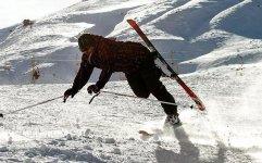 مصدوم شدن 37 نفر در پیست اسکی دیزین