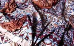 جاده ابریشم با صادرات پارچه دستبافت ایران احیا می شود