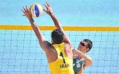 بهره برداری از محل برگزاری رقابت های جهانی والیبال ساحلی در کیش