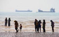 پذیرایی دریایی هرمزگان در نوروز