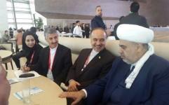 دیدار سلطانی فر با رییس اداره مسلمانان قفقاز جمهوری آذربایجان