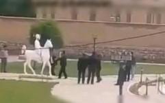 عاملان تخریب مجسمه سردار اسعد بختیاری دستگیر شدند
