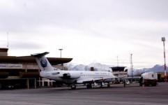 پرواز مشهد - کیش از 22 تیرماه در فرودگاه همدان