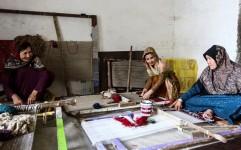 نقش زندگی بر تار و پود فرش ترکمن