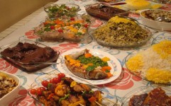 سفره ایرانی با معرفی برترین سرآشپزها در رامسر جمع شد