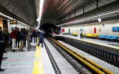 ایستگاه مترو حسین آباد افتتاح شد