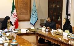 دکتر احمدی پور با رئیس دفتر منطقه ای یونسکو در تهران دیدار کرد