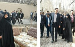 بازدید رئیس سازمان میراث فرهنگی از باغ جهانی پهلوان پور