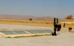 لغو تدفین 2 شهید گمنام در حریم پاسارگاد