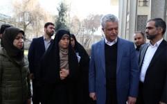 رئیس سازمان میراث فرهنگی از کاخ نیاوران بازدید کرد
