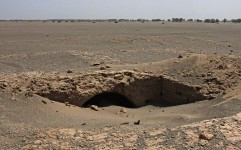 محوطه کشف شده در فهرج، تاریخی از آب درآمد