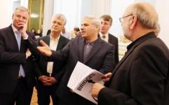 """""""پل"""" ارتباطی ایران و اتریش در کاخ نیاوران افتتاح شد"""
