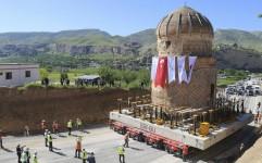 جا به جایی یک بنای تاریخی در ترکیه