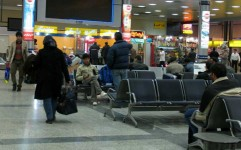 استقبال از مسافران با نوروزخوانی در فرودگاه مهرآباد