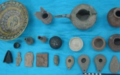 اهدای اشیای تاریخی متعلق به عصر مفرغ، آهن و اشکانی در مشهد