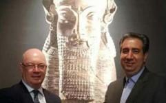 ایران و انگلیس بر همکاری های موزه ای تاکید کردند