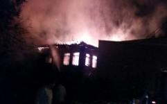 بنای تاریخی گوهرتاج در املش در آتش سوخت
