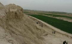 کشاورزی در قلعه تاریخی ایرج منع قانونی ندارد!