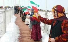 اجتماع عظیم زنان عشایر با لباس سنتی در مشکین شهر برگزار شد